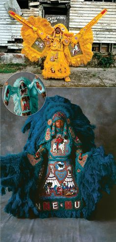 Mardi Gras Indians   -  Aunt Peaches