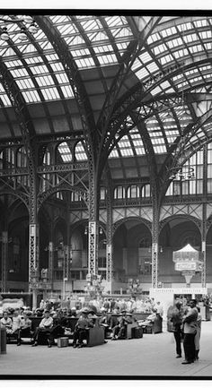 Holden's NYC: A Catcher in the Rye Trip-- Old Penn Station