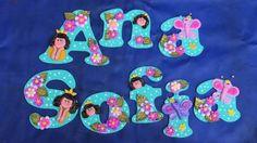 Letras En Mdf Decoradas Con Masa Flexible Infantil
