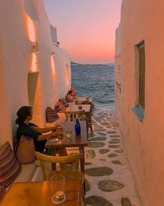Ode to the sea Mykonos, Greece. Photo by – All Pictures The Places Youll Go, Places To See, Places To Travel, Travel Destinations, Destination Voyage, Travel Aesthetic, Dream Vacations, Adventure Travel, Greatest Adventure
