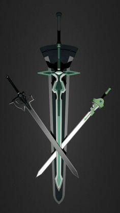 As espadas de SAO são simplismente incríveis Anime Mangas, Manga Anime, Comic Manga, Sword Art Online Weapons, Sword Art Online Memes, Kirito Alo, Kirito Sword, Sword Art Online Kirito, Sword Art Online Manga