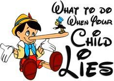 why children lie and how to deal with it
