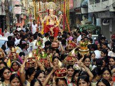 Ganesh devotees 17 sep 2015