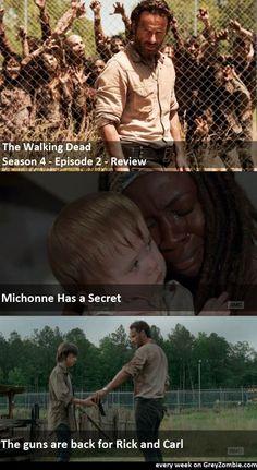 The Walking Dead, Season 4, Episode 2 review (spoilers inside) http://greyzombie.com/the-walking-dead-season-4-episode-2-episode-review-spoilers-inside-1395.html