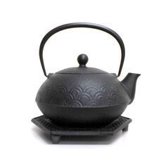 Nanbu-Tekki teapot/kettle from Iwate Prefecture is green tea lovers' must-have item that will enrich tea experience at home. Technique ofNanbu-Tekki developed some 900 years ago, originating in Morioka City and Mizusawa, Oshu City, in Iwate. Each piece is handmade by skilled craftsman using traditional techniques and materials that are sourced from local areas.  Nanbu Tekki requires aprocess of 64 to 68 different steps to completion. To become an ironware maker, one mustgo through 15…