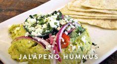 Jalapeno Hummus via @PureWow