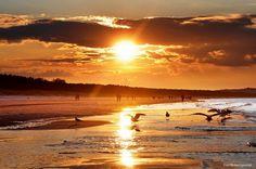 Luty na świnoujskiej plaży   Świnoujście w sieci