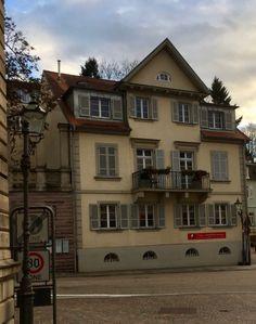 Baden-Baden, Sophienstr. 38 erbaut Mitte 19.Jhdt., Architekt unbekannt