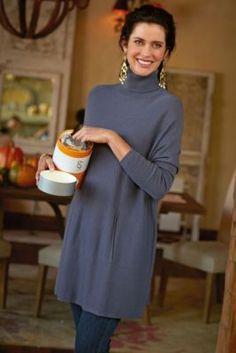 Highland Sweater - Ladies Turtleneck Sweater, Loose Fit Sweater, Comfort Turtleneck Sweater | Soft Surroundings
