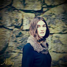 Chic Knits Alby Lace Shawl Knitting Pattern