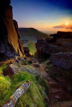 Cleveland Way, Wainstones, Yorkshire Moors, North Yorkshire, England