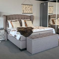 HACO Vlaardingen | Ruime keus & Snel leverbaar! Showroom, Bed, Furniture, Home Decor, Decoration Home, Room Decor, Home Furniture, Interior Design, Beds