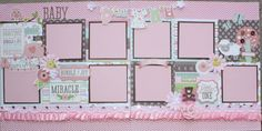 Baby Girl Scrapbook Layout Ideas