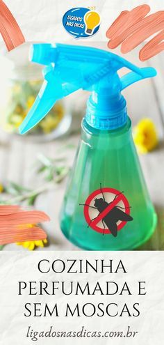 Mata Mosquito, Cleaning Hacks, Cleaning Supplies, Home Hacks, Organization Hacks, Spray Bottle, Housekeeping, Clean House, Tricks