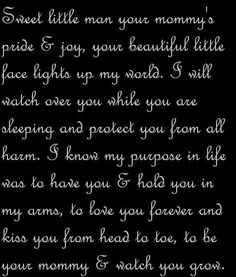 For my sweet men! My boys are my everything! ❤️❤️
