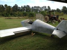 Home built Sonex airplane at 90% complete