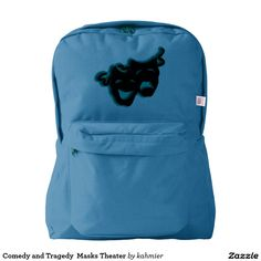 Comedy and Tragedy  Masks Theater American Apparel™ Backpack