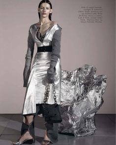 Amanda Murphy for Vogue Italia by Steven Meisel
