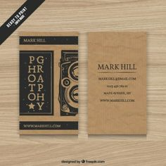 Carton Photographie Carte De Visite Free Business Cards Card Design Photography