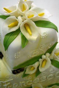#flower prima comunione  torta della pasticceria La Mimosa di http://www.simocakedesigner.it
