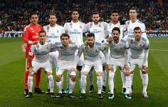 EQUIPOS DE FÚTBOL: REAL MADRID contra Borussia Dortmund 06/12/2017 Liga de Campeones