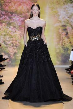 Zuhair Murad, París Alta Costura Primavera Verano 2014  #fashion #lujo