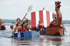 Ready, set, cardboard boat - Potomac Local Potomac Local