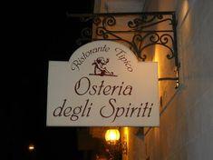 Lecce | Osteria degli Spiriti