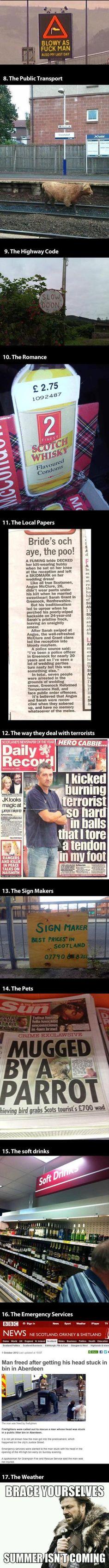 Why we love Scotland! :)
