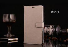 xperia Z5 Premium 手帳型レザーケース
