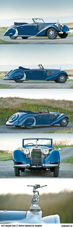 1937 Bugatti Type 57 Stelvio Cabriolet by GangloffSpecial cars need special I