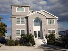 Ocean County, NJ - Custom Buit Homes - beach-style - Exterior - New York - Aqua Marine Green