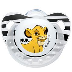 NUK Trendline: A nova coleção O Rei Leão - Edição Limitada. Disponível em silicone e em 2 tamanhos (0-6m;6-18). Formato NUK - Design Disney ... HAKUNA MATATA! #chupetasnukprimavera