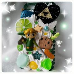 MADE TO ORDER, Zelda/Link Decoden Phone/Nintendo ds/3ds /iPod Case For Any Phone/Nintendo/iPod :3