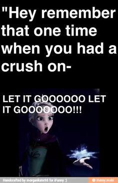 Let it go! Frozen