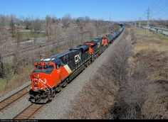 RailPictures.Net Photo: CN 2931 Canadian National Railway GE ES44AC at Beaconsfield, Quebec, Canada by Michael Berry