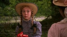Megan Follows (Anne Shirley) - Anne and Diana in the boat at the picnic.