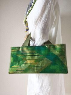 帯バッグ〜グリーン〜の画像4枚目