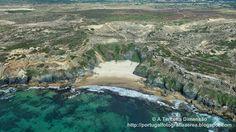 A Terceira Dimensão - Fotografia Aérea: Praia da Angra da Cerva