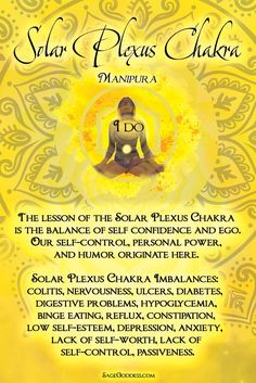 Which of these imbalances are you familiar with? You may be holding onto negative experiences that are causing an energetic block within your Solar Plexus Chakra. Read more and discover tools to help you heal and align your chakras on the Sage Goddess blog.