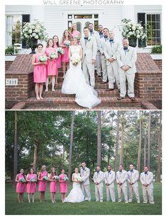 Samantha & Bobby's Rose Hill Plantation wedding, Nashville NC, Will Greene Photography