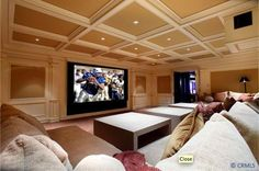 Entertainment room. This is awesome!