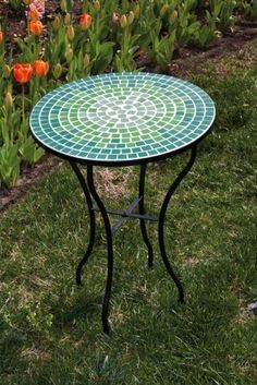Mosaic Table,Blue and Green by Ashley Gifts, http://www.amazon.com/dp/B0055PG1C6/ref=cm_sw_r_pi_dp_UZ-Hrb119VCK0