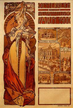 O movimento Art Nouveau   1890-1910   História da Arte