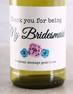 Thank You For Being Personalised Wine Gifts South Africa Personalized