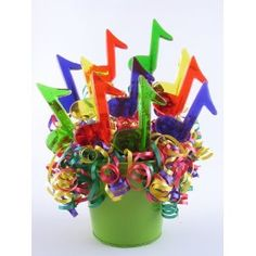 less expensive and colorful centerpiece
