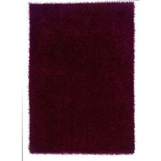 Shop for Linon Confetti Collection Wine Shag Rug (5' x 7'). Get free shipping at Overstock.com - Your Online Home Decor Outlet Store! Get 5% in rewards with Club O! - 18187408