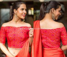 blouse back neck designs for pattu sarees