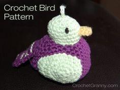 Pudgy Little Bird | AllFreeCrochet.com