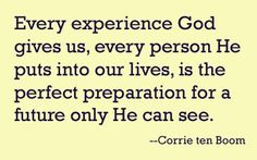 Because everything happens for a reason..even if that reason is unknown to us. But He knows <3